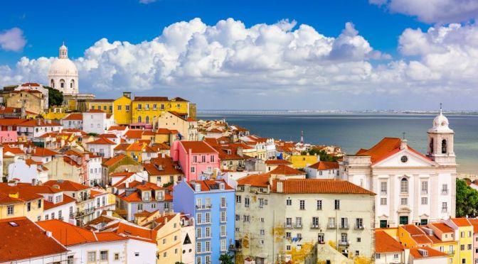 Aerial City Views: Lisbon – Southwest Portugal (4K)