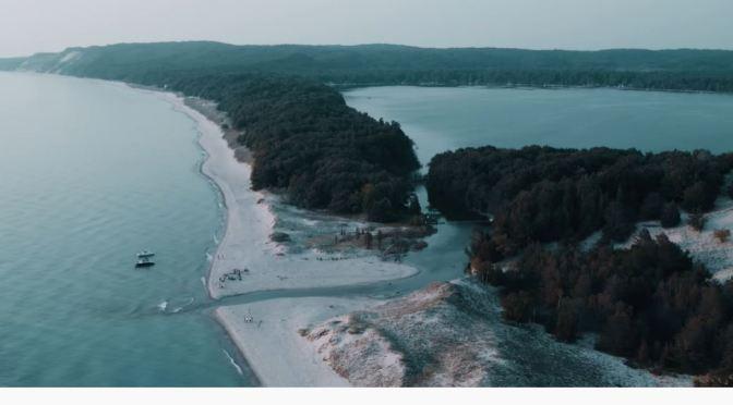 Aerial Views: Michigan – Coastlines & Landscapes