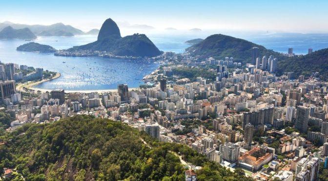 Aerial City Views: Rio de Janeiro, Brazil (4K Video)