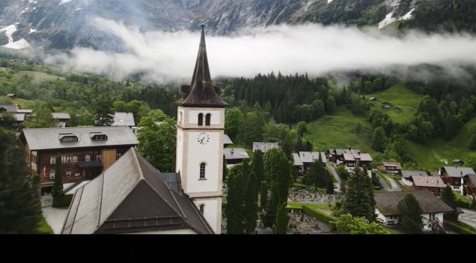 Aerial Views: Valleys And Lakes Of Switzerland (4K)