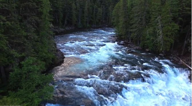 Aerial Views: Wilderness & Waters Of Montana (4K)