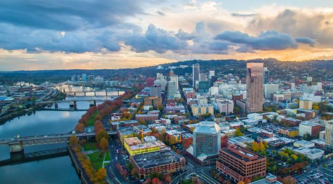 Aerial Views: Portland – Northwest Oregon (4K)