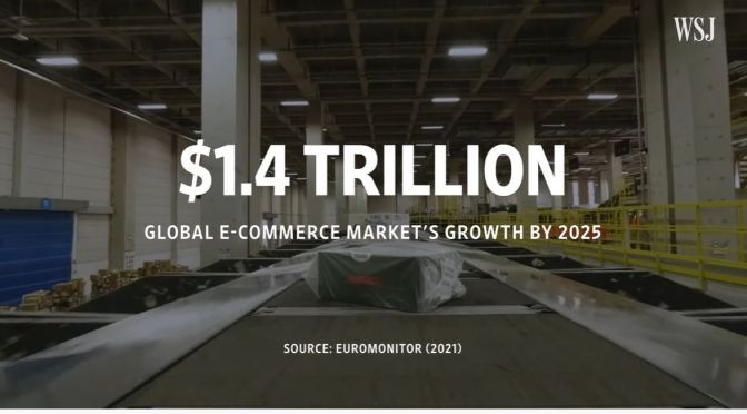Online Shopping: Alibaba Challenges Amazon (WSJ)