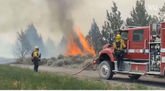 Views: California Fights Worsening Wildfires