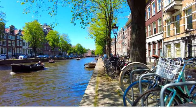 Walks: Canal District Of Amsterdam, Netherlands