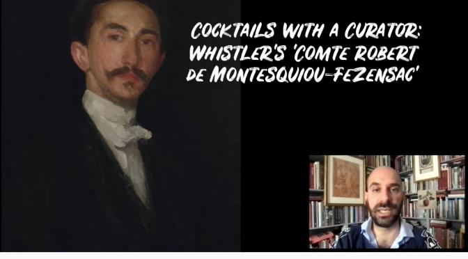 Art History: Whistler's 'Comte Robert de Montesquiou-Fezensac'