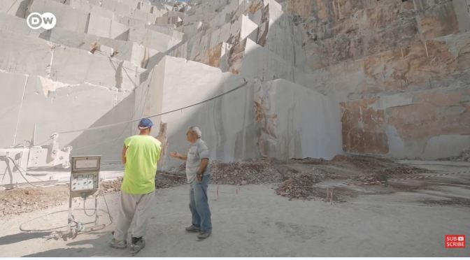 Conservation: The Marble Quarries Of Carrara, italy