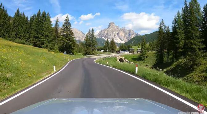 Drives: Campolongo Pass – Dolomites, Tyrol, Italy (4K)