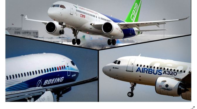 Aviation: Boeing & Airbus Counter China's Comac