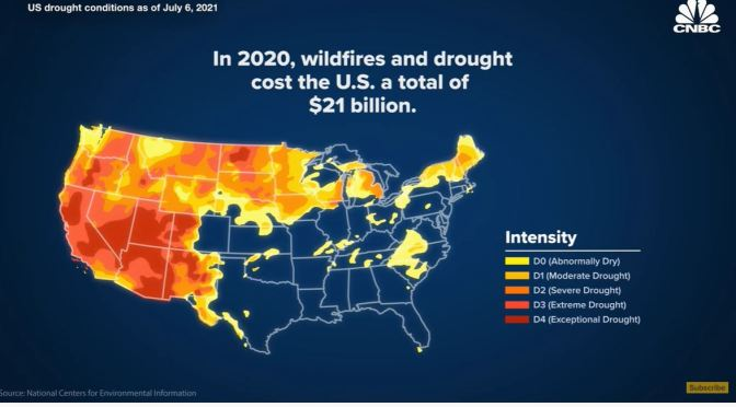 Western Drought: Expect More Fires & Water Wars