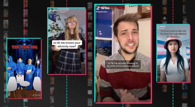 Social Media: Tik Tok's Algorithms Know 'You'