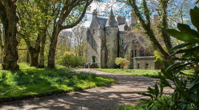 Tower Houses: Killberry Castle, Western Scotland