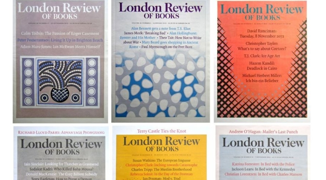 Literary Preview: London Review Of Books – Sep 9