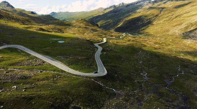 Motorcycle Rides: Flüela Pass – Switzerland (4K)