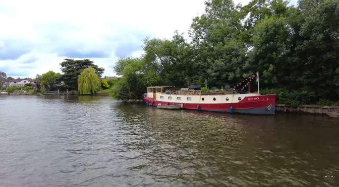 London Views: The River Thames, Hampton Court