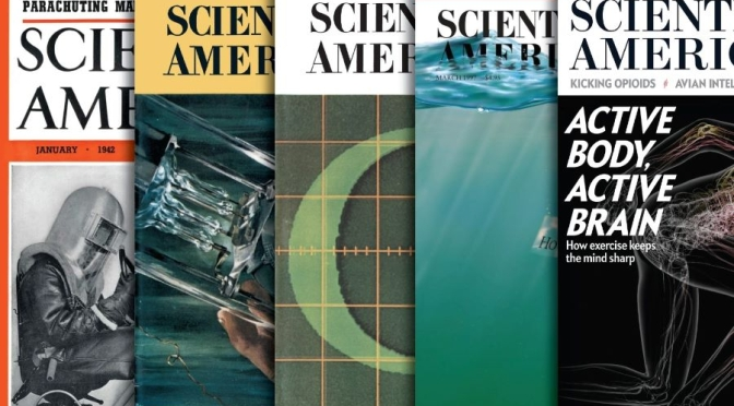 Front Covers: Scientific American – August 2021