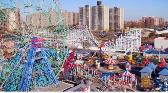 Summer Tourism: 150 Years Of Coney Island, New York