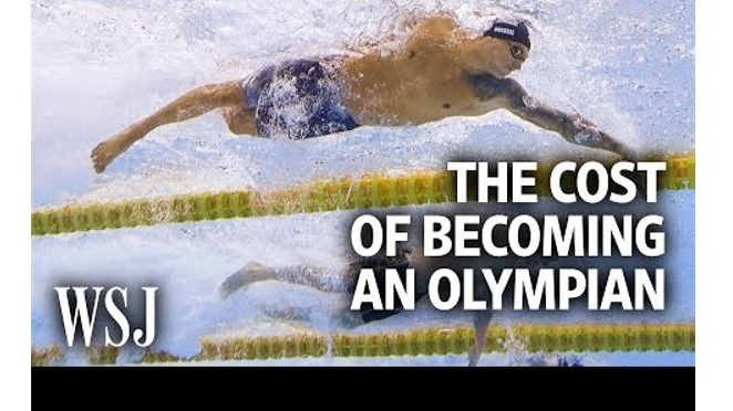Athletics: Costs Of An Olympic Swimmer (Video)