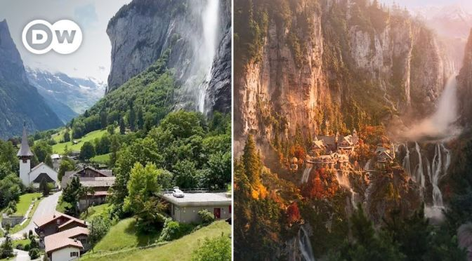Views: Places Inspiring  'Lord Of The Rings' & 'The Hobbit' By J.R.R. Tolkien