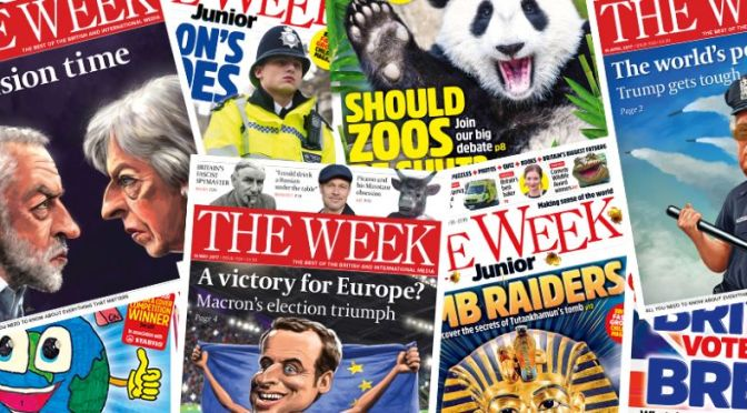 Front Cover Views: 'The Week' – July 23, 2021