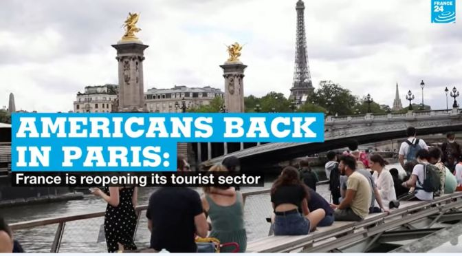 Tourist Views: Americans Return To Paris (Video)