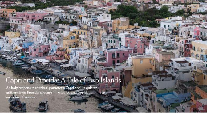 Italian Islands: Capri & Procida Open To Tourists
