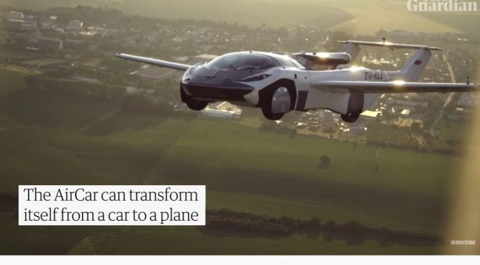 Views: Flying 'AirCar' Is Tested In Slovakia (Video)