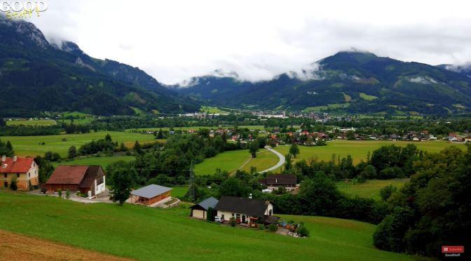 Village Walks: Admont – Central Austria (4K Video)