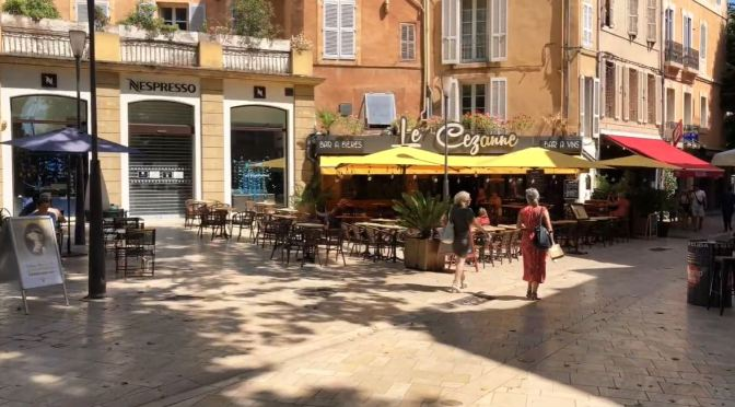 Walks: Aix-en-Provence – South Of France (4K)