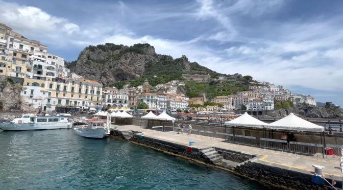 Walking Tour: Amalfi – The Amalfi Coast, Italy (4K)