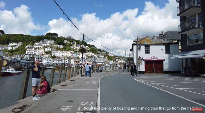 Walking Tour: Looe in Cornwall, England (4K)