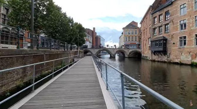 Walking Tour: Mechelen – Northern Belgium (4K)