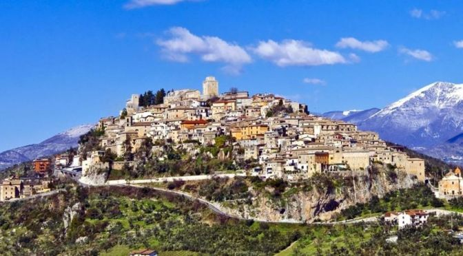Village Walk: Monte San Giovanni Campano, Italy