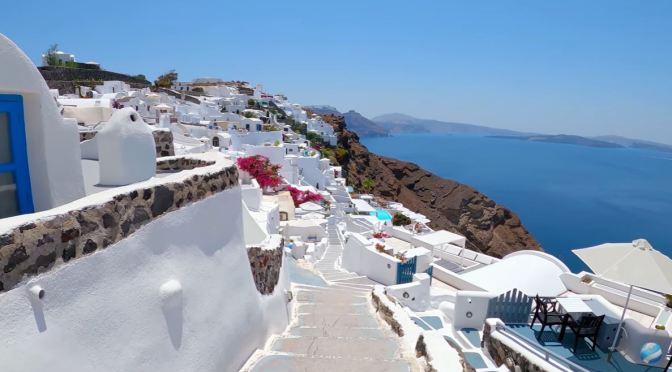 Walks: Oia – Island Of Santorini, Greece (4K)