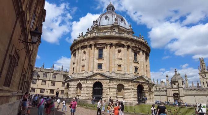 Walking Tour: University Of Oxford, England (4K)