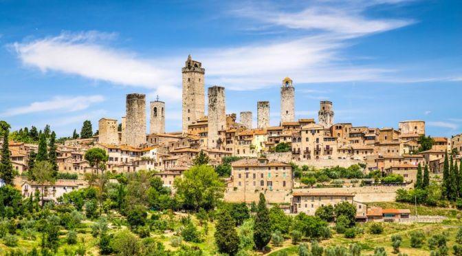 Walks: San Gimignano – Tuscany, Italy (4K Video)