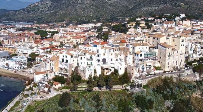 Village Walks: Sperlonga In Southern Italy (4K)