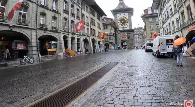 Walks In The Rain: Bern – Switzerland (4K video)