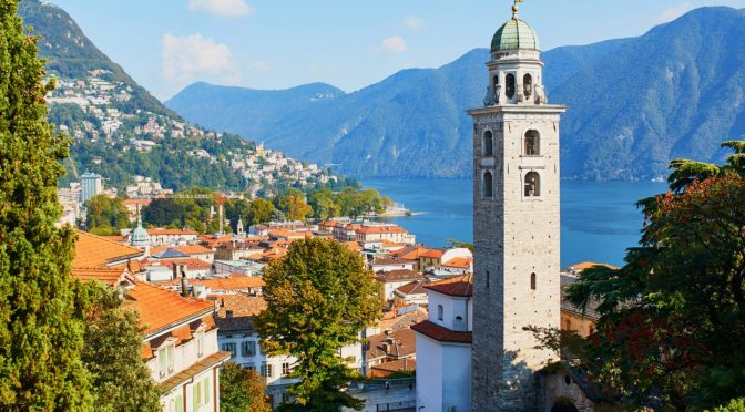 Walking Tours: Lugano – Ticino, Switzerland (4K)