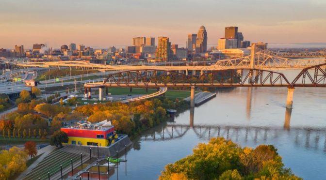 Aerial Views: Louisville – Northern Kentucky (4K)