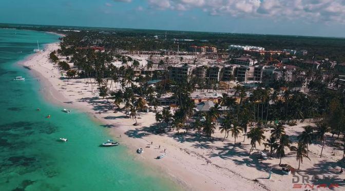 Aerial Views: Dominican Republic (4K Video)