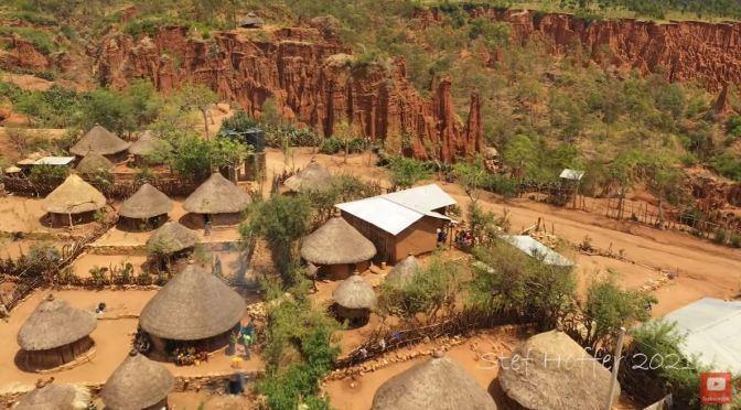 Aerial Views: Ethiopia – Cities & Landscapes (4K)
