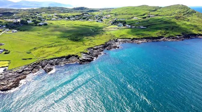 Aerial Views: Landscapes & Coastlines Of Ireland (4K)