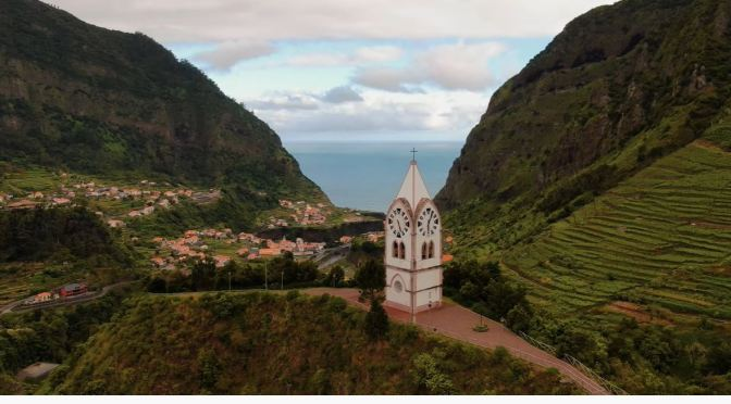 Aerial Views: Islands Of Madeira – Portugal (4K)