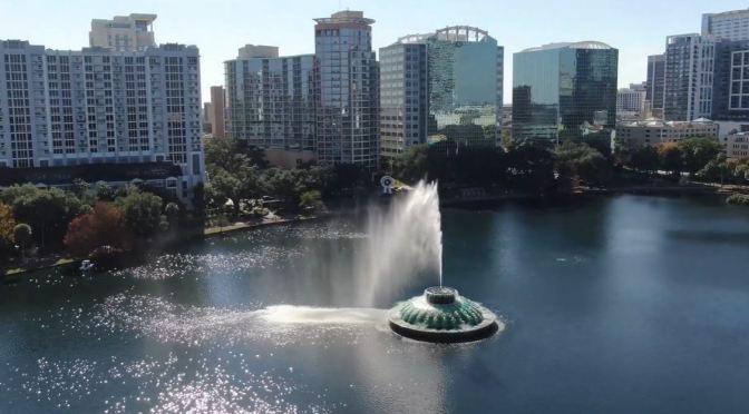 Aerial Views: Orlando – Central Florida (4K)