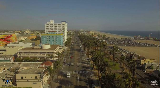 Coastal City Views: Santa Monica, California (4K)