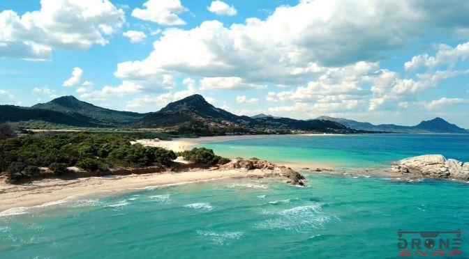 Aerial Views: Island Of Sardinia, Italy (4K Video)