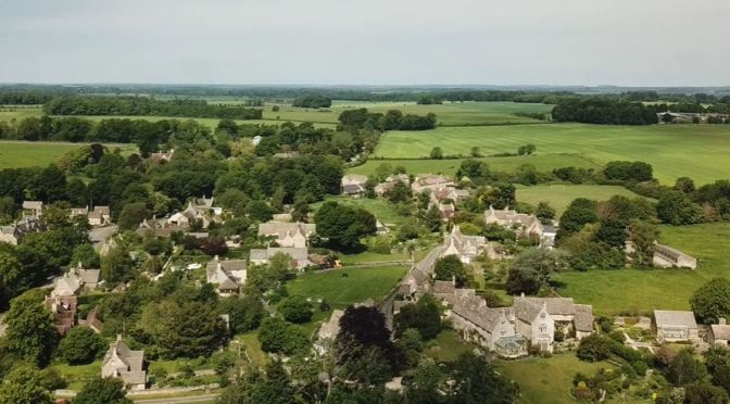 Cotswolds Views: Broad Campden, Eastleaches, Quintons, River Windrush