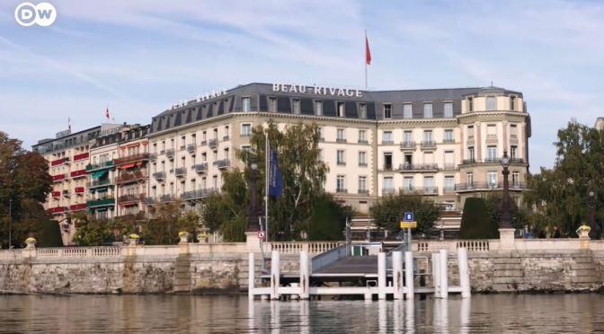 History: The Legendary Beau-Rivage Hotel In Geneva, Switzerland