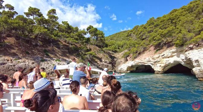 Boat Tour: Gargano Coast Puglia, Southern Italy (4K)